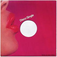 """Epic Records' 1970s Disco 12"""" Singe Record Sleeve"""