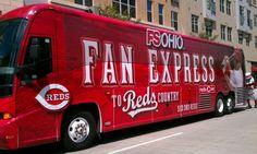 Fox Sports Ohio Fan Express Vehicle Wrap
