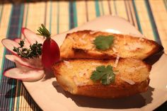Le Panier Epi with Cannabis Shallot Butter and Butter Radishes