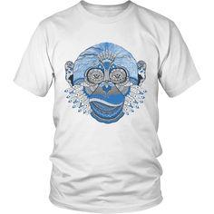 My Lifetime Enemy Men's / Unisex T-shirt Tees, Mens Tops, T Shirt, Stuff To Buy, Shopping, Monkey, Design, Women, Polyvore