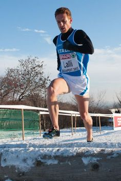 Andrea Lalli. Watched a video of his race in the European Cross Country Championships and he looked stout.