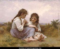 A Childhood Idyll - William-Adolphe Bouguereau - www.bouguereau.org