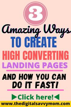 No matter what sort of business you're running online, you're going to need landing pages to present lead magnets and similar offers. Most online marketers and other business owners benefit the most when they have several landing pages to attract a wider audience. Learn more here! #marketing #affiliatemarketing #marketingtools #digitalmarketing #landingpages #funnels #pagedyno Advertising Strategies, Digital Marketing Strategy, Marketing Plan, Marketing Tools, Affiliate Marketing, Internet Marketing, Online Marketing, Social Media Marketing, Best Online Business Ideas
