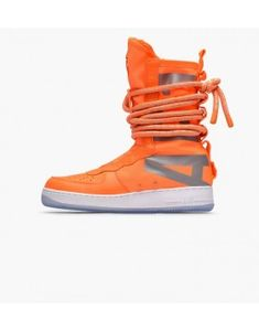 best service 632c9 9b880 61,89 Nike SF Air Force 1 Hi Boot Totaal Oranje Wit