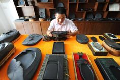 Master of inkstone carvings in Anhui - Lifestyle News - SINA English
