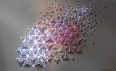 . of paper and things .: paper arts | art installation