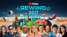 YouTube Rewind: The Shape of 2017 | #YouTubeRewind | Markiplier Ethan from CrankGameplays | Dan and Phil | no pewdiepie...