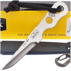 Buck 0160SSS-B Smidgen Small Neck Knife w/ Sheath | MooseCreekGear.com | Outdoor Gear — Worldwide Delivery! | Pocket Knives - Fixed Blade Knives - Folding Knives - Survival Gear - Tactical Gear
