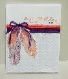 Feathered Birthday Wish