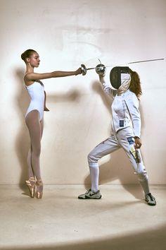 Fencer : Aube Vandingenen Photography : Andy Eeckhaut