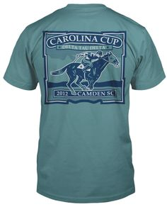 Carolina Cup on Seafoam T-shirt