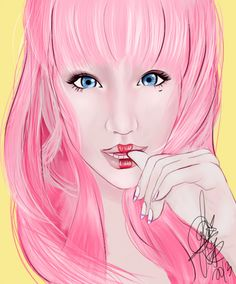 drawing inspired by Xiaxue