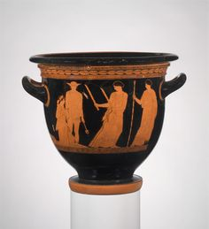 Persephone was condemned to spend half of each year with Hades, the ruler of the underworld. http://met.org/1nqyDOv