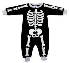 Amusant :-)  Grenouillère Skeleton