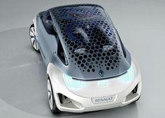 Zoe Concept Honeycomb Solar Roof (Image: Renault)