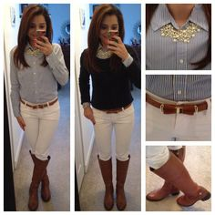 preppy cardigan outfits - Google Search