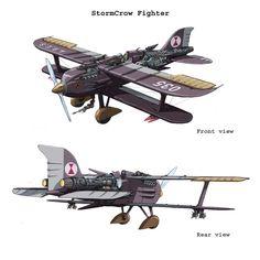 steampunk aircraft - Google Search