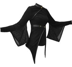 I found 'Vodabox - Kimono Shrug & Wrap w/ leather look Trim & Polo Neck' on Wish, check it out!