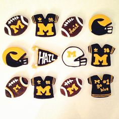 Everything tastes better in maize & blue!