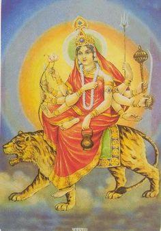 श्री राणी सती दादी: Third Navratri men Maa Chandraghanta Ki Pooja
