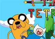 juego Hora de aventura Tetris