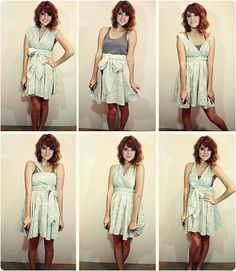 DIY No Sew Dress