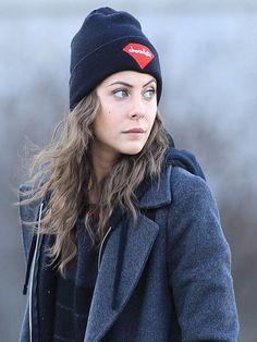 Arrow Willa Holland Wool Blue Coat | Top Celebs Jackets