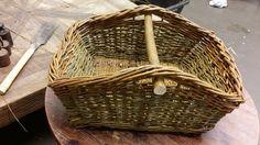 Square picnic basket by Linda Aasan
