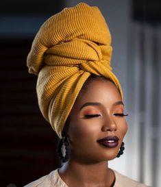Black Girl Magic, Black Girls, Black Women, Turbans, Headscarves, Natural Hair Tips, Natural Hair Styles, African Head Wraps, Hijab Style