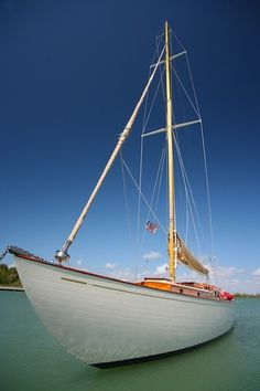 Classic Wooden Sailing Boat #southfloridaboating