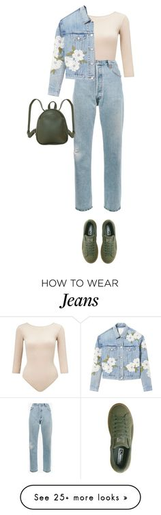 """""""What I'm Wearing: 4th March 2018"""" by katrinattack on Polyvore featuring Miss Selfridge, RE/DONE, Puma, Rebecca Taylor, Humble Chic, whatimwearing and polyvorefashion"""