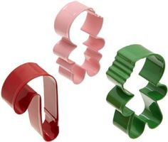 Wilton Metal Frosted Fun 3-Piece Cookie Cutter Set