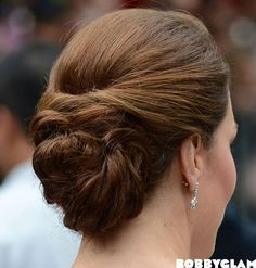 Kate Middleton Updo Hairstyle ♥ She manages to pull of everything!