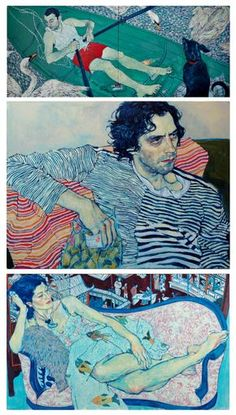 Illustrations by Hope Gangloff One of the artists where every single expression already starts to tell you a story, combined with an edge to the lines and curagious colour choice. Figure Painting, Painting & Drawing, Artist Painting, Painting Inspiration, Art Inspo, Hope Gangloff, Art Graphique, Pics Art, Illustrations And Posters