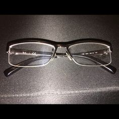 2fe0626a380d Shop Women s Ray-Ban Silver size 55 Glasses at a discounted price at  Poshmark.