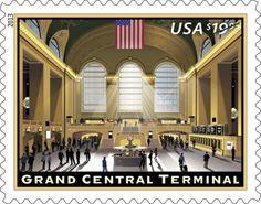 U.S. Postal Service unveils $19.99 Grand Central Terminal stamp