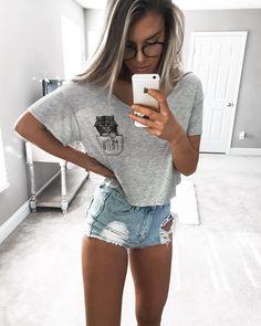 KELSEY FLOYD on Instagram: fashion | fashionista | style | casual | love | denim | shirt | baggy