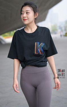 Sexy Outfits, Girl Outfits, Belle Nana, Asian Model Girl, Korean Girl Fashion, Sporty Girls, Girls In Leggings, Cute Asian Girls, Beautiful Asian Women