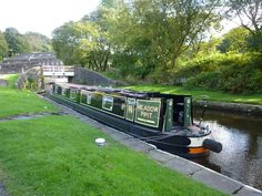 Barge by Zrnho Correy Canal barges around Marsden Standedge Tunnel history in England.