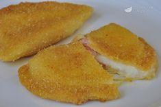 Sofficini fatti in casa cotto e mozzarella Frittata, Mozzarella, Cornbread, Pizza, Aglio, Carne, Ethnic Recipes, Food, Koken