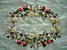 Lady Ricamo Brooch, Lady, Tableware, Handmade, Jewelry, Fashion, Moda, Dinnerware, Hand Made