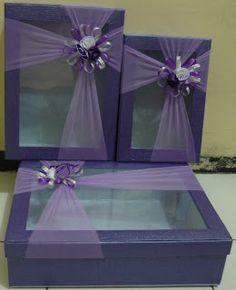 Kotak hantaran ( model kotak mika tengah) - SOUVENIR PERNIKAHAN MURAH