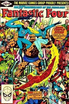 Fantastic Four #236     art: John Byrne