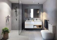Modern bathrooms ideas modern bathrooms also modern bathroom remodel pictures also modern master bathroom designs also contemporary shower baths white Bathroom Renos, Laundry In Bathroom, Bathroom Layout, Small Bathroom, Bathroom Ideas, Bathroom Grey, Bathroom Inspo, Bathroom Goals, Master Bathrooms