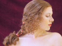 Renaissance Hairstyle Retro Hairstyles, Wig Hairstyles, Renaissance Hairstyles, Wigs, Hair Styles, Women, History, Projects, Art