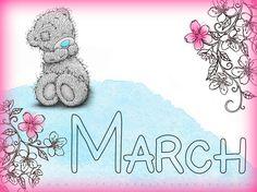 Goodbye February... Hello March