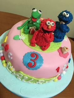Elmo cakes Muppets cake