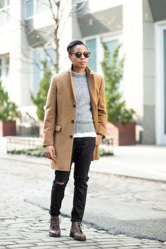 Meet The Woman Who Loves Menswear Butch Fashion, Mens Fashion Blog, Androgynous Fashion, Androgyny, Androgynous Girls, Tomboy Fashion, Men's Fashion, Fashion Tips, Danielle Cooper