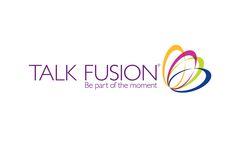 Talk Fusion Logo White