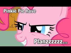 #MLP. Pinkie Pie is devious. >:D